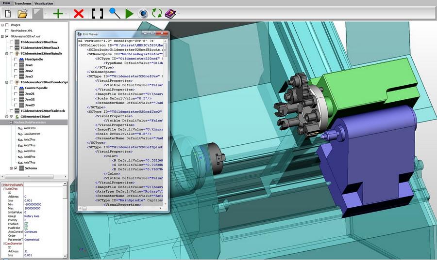 Создание станка в MachineMaker